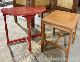 A Pair of Accent Tables