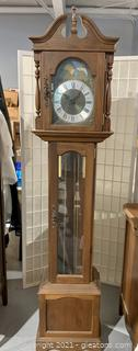 Traditional Style Grandfather Clock