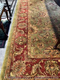 Exquisite Asian Inspired High Pile Area Rug