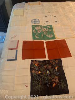 20 Delicate Handkerchiefs