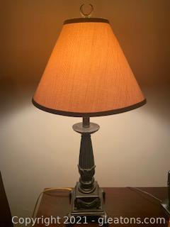 Bronze Look Table Lamp