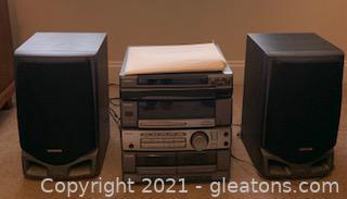 Aiwa CX-ZR525 Audio System