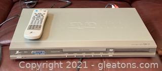 Zenith DVB312 Super Slim DVD/CD Player