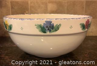 Crock Shop Painted Ceramic Bowl