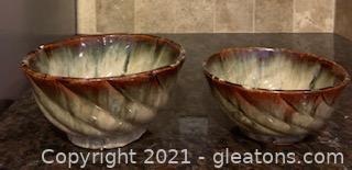 Beautiful 2pc Ceramic Pottery