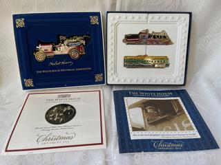 White House Collectible Christmas Ornaments (Lot of 2)