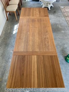 Ansager Mobler Danish Teak Extension Dining Table - Mid Century Modern