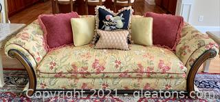 Andre Original Luxurious Hand Stitched Tapestry Sofa