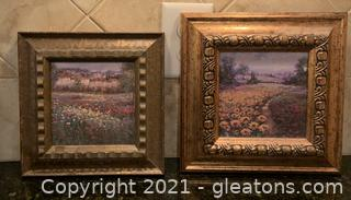 Two Small Landscape Paintings