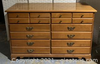 Traditional Forest Solid Maple Dresser