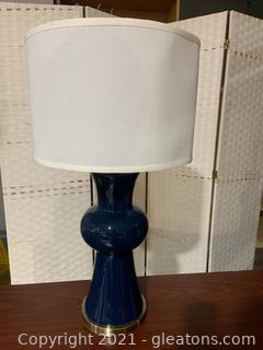 Safavieh Lola H Column Ceramic Table Lamp