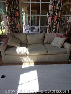 Nice Lee Industries 3 Cushion Sofa- Down Fill