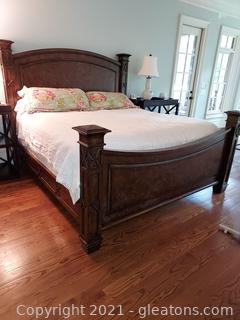 Nice King Size Platform Bed