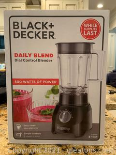 Black and Decker 5 Cup Blender NIB