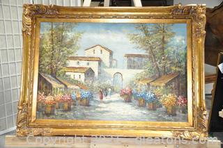 Signed Original Acrylic Impressionist