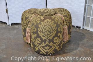 Clover Leaf Ottoman