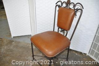 Alexandra Diez Hand Forged Chair