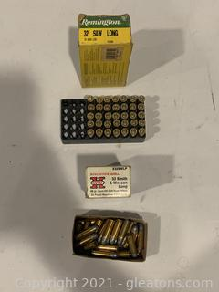Remington and Winchester 32 Sound W Long 98 Grain Rounds