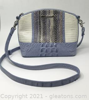 Leather Brahmin Crossbody Bag