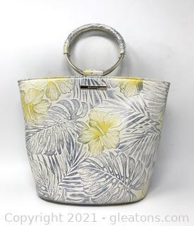 Brahmin Mod Bowie Handbag in Lemonade Nostalgia