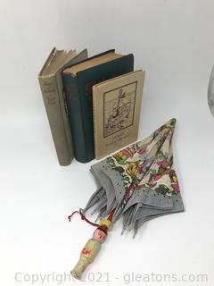 Classic Children's Books and Umbrella Lot