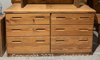 This End Up Furniture Co.Solid Pine Classic Double Dresser