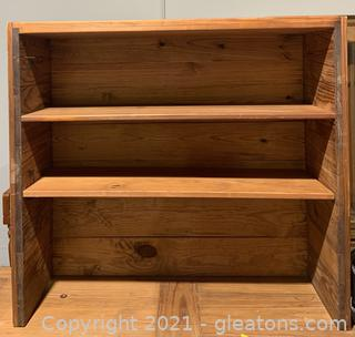 This End Up Furniture Co. Solid Pine Shelf Unit