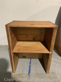 This End Up Furniture Co. Solid Pine Classic Cubbie/Nightstand