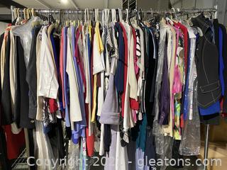 Ladies Wardrobe Full of Great Designer Brands