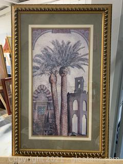 Attractive Palm City Framed Print