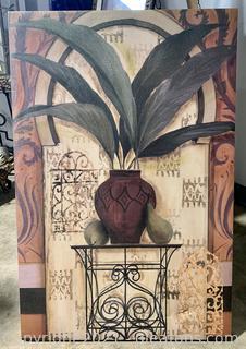 Plant and Vase Print