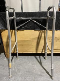 Folding Adjustable Aluminum Walker