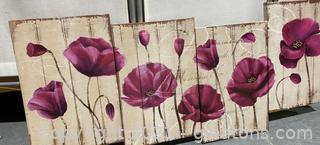 Floral Art Piece