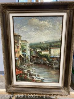 Original French Oil Painting