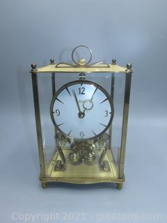 Kundo Kieninger Obergfell Mantle Anniversary Clock