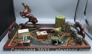 Collection of International Souvenirs