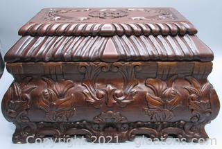 Indonesian Carved Chest