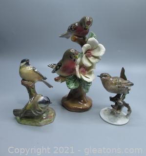 Lovely Bird Figurine Set