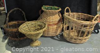 Handmade Basket Collection