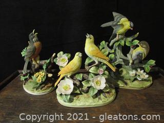 Song Bird Figurines