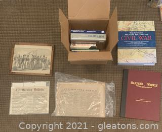 Civil War Book and Photo Collection
