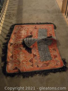 Authentic Saddle Blanket Decor (Not a Rug)