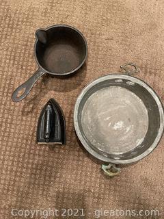 Vintage Copper & Iron Items