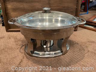 Professional Quality 5.8 qt Chafing Dish W/Lid