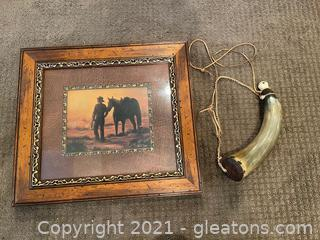 Two Pieces of Western Inspired Decor
