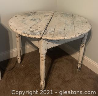 Distressed Utility Table