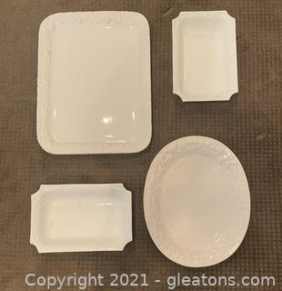 CWC and Gibson Serving Platters