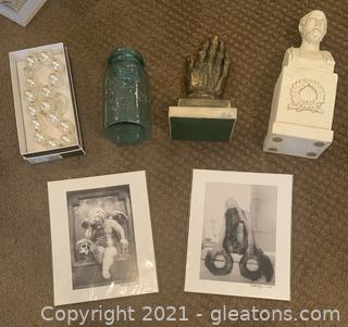 Whimsical Lot including 2 signed prints