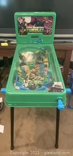 Teenage Mutant Ninja Turtles Electronic Pinball Machine