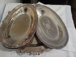 Silverplate Serving Trays